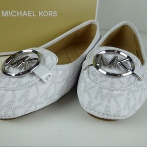 Michael Kors Lillie Moc Logo Moccasin Quilted Bed